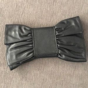 Ann Taylor Bow Clutch